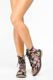 womens combat boots target bamboo floral combat boots cicihot boots catalog s winter