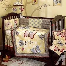 Cocalo Crib Bedding Gently Used Crib Bedding Set More Cocalo Sundae For Sale In