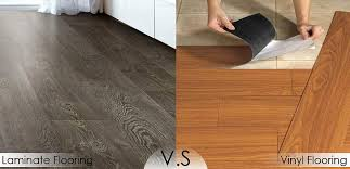 how to choose between laminate vinyl flooring interior design