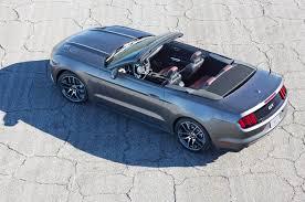 mustang convertible trunk 2015 ford mustang convertible look motor trend