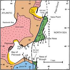 Usf Map Demarcation Of The Boundary Between Middle Devonian Upper