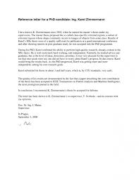 writing a recommendation letter of application