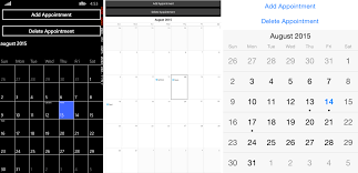 xamarin activity layout set your appointments with calendar for xamarin forms