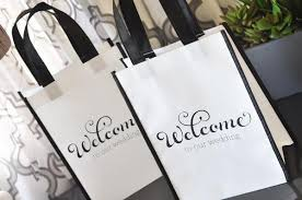 welcome bags for weddings wedding party welcome bags reunions hs reunion candy