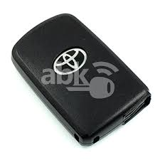 toyota stock symbol abk 3743 genuine toyota auris smart key 2 buttons fcc id page1