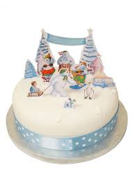 Christmas Cake Decorations Toppers by 11 Best Snowman Snowdog Cake Decorations Images On Pinterest