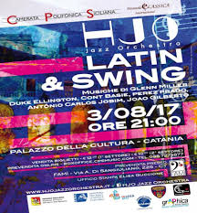 cortile platamone catania jazz orchestra in swing gioved祠 3 agosto 2017 cortile