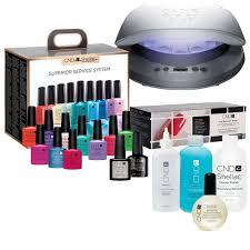 cnd creative nail design shellac superior service system kit