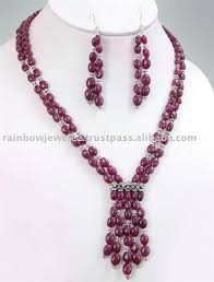 beaded necklace jewelry designs images Beaded jewelry designs ruby beads necklace ruby beads necklace jpg