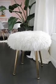 bedroom chair marvelous fur vanity stool small bedroom
