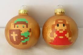 nintendo ornaments merry mario technabob