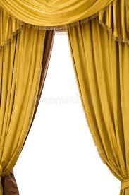 Gold Velvet Curtains Gold Velvet Curtains Stock Photo Image Of Comedy Auditorium