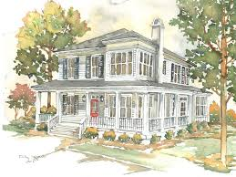 corner the market southern living house plan plans 2016 1641 hahnow