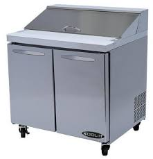 36 inch sandwich prep table kool it kst 36 2 36 refrigerated prep table with two doors