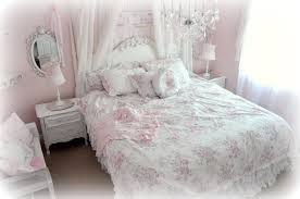 bedroom yellow shabby chic bedding dark hardwood wall mirrors