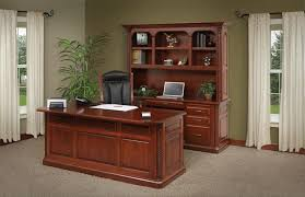 Lexington  Executive Desk By DutchCrafters Amish Furniture - Lexington office furniture