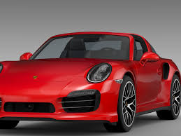 porsche 911 2016 porsche 911 turbo s targa 991 2016 3d model vehicles 3d models