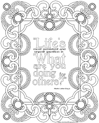 coloring page quotes inspirational quotes coloring pages quotesgram coloring pages for