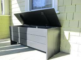 outdoor wooden storage bench seat storage bench outdoor diy