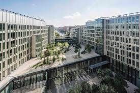 veolia siege headquarter veolia dietmar feichtinger architectes archdaily