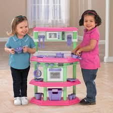 Plastic Toy Kitchen Set American Plastic Toys My Very Own Sweet Treat Kitchen Hayneedle