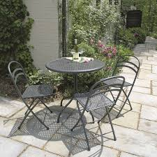Folding Bistro Table And 2 Chairs Outdoor Dining Tables Savannah 31 1 2 In Bistro Table Country