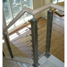 Cable Banister Shenzhen Stainless Steel Interior Cable Railing Hardware For Stair