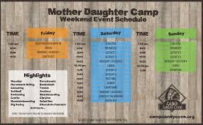mother u0026 daughter camp camp sandy cove near winchester va