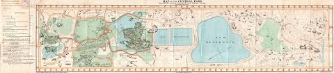 File Map Of New York File 1860 Pocket Map Of Central Park New York City Geographicus