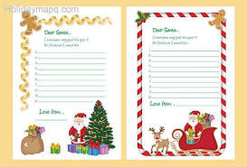 santa letter template map holiday travel holidaymapq com