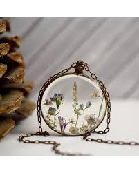 resin flower necklace images Thanksgiving savings on flower resin pendant flower garden