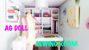 diy how to make and set up american doll sewing craft room