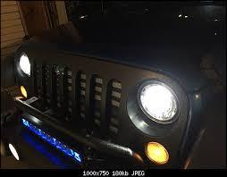 2017 jeep wrangler fog light bulb size 2017 oem led headlight review jeep wrangler forum