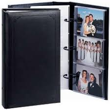 3 ring photo albums 4x6 concord 3 ring pocket black proof book holds up to