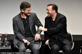 Special Correspondents U0027 Ricky Gervais Talks Working With Eric Bana