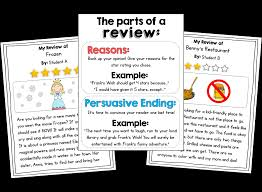 writing reviews in 1st or 2nd grade opinion writing fun susan