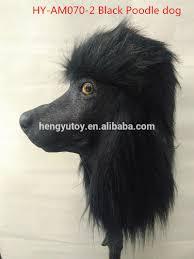 wholesale latex caniche costume halloween animal head realistic