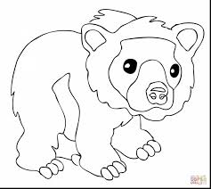 extraordinary printable bear coloring pages with brown bear