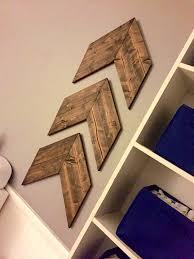 chevron wood arrows wooden aztec arrows nursery mantle idealpin