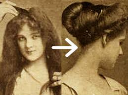 how to style hair for 1900 easy edwardian hairstyle in 10 minutes glamourdaze