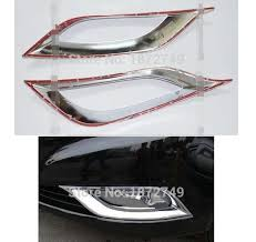 hyundai sonata 2011 accessories accessories chrome front fog light cover fit for 2011 2012 2013