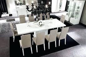 Black Gloss Dining Room Furniture White High Gloss Dining Table And Chairs Modern White Gloss Dining