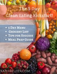 free 5 day clean eating kickstart group starts on monday april