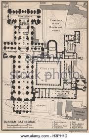 Cathedral Floor Plan Durham Cathedral Floor Plan Durham Baedeker 1906 Old Antique Map
