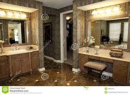 stylish bathroom decor stock image image 15625781