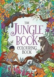 jungle book colouring book ann kronheimer 9781780553955