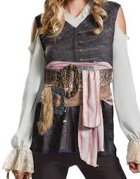 jack sparrow costume spirit halloween womens captain jack sparrow pirate costume costume craze
