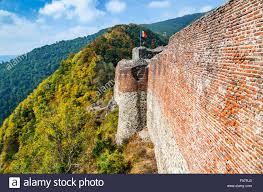 Vlad The Impalers Castle by Poenari Fortress Romania Vlad Tepes Castle Ruins Prince Of