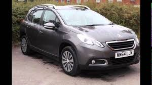 peugeot 2008 crossover 2015 peugeot 2008 crossover nimbus grey youtube