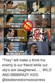 Gaddafi Meme - s saldana hussein dropped the dollar in 2000 muammar gaddafi dropped